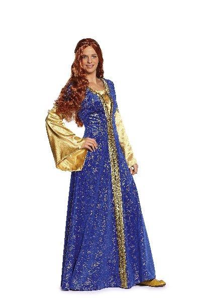 Fabulous Burda Patroon 7468 - Middeleeuwse jurk en kapje - Anjo Kleinvak &SZ99