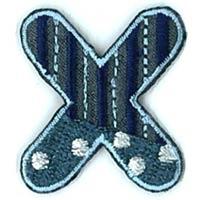Appli ABC Blauw-X