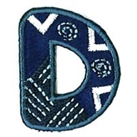 Appli ABC Blauw-D