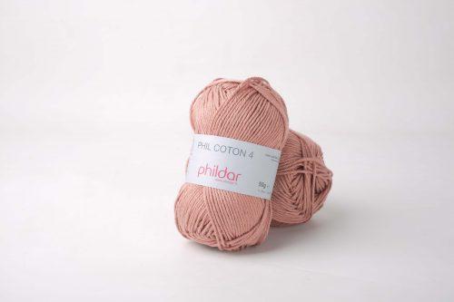 Wol;Phil Coton 4 Vieux Rose