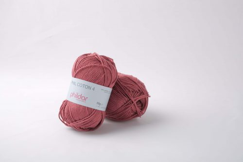 Wol;Phil Coton 4 Rose wood