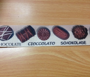 Lint 40mm met Chocolade/Bonbons