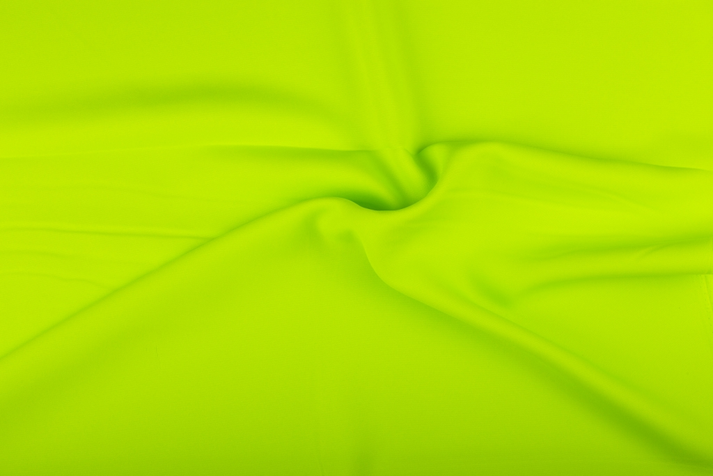 Stof;Bi-Stretch Neon Lime