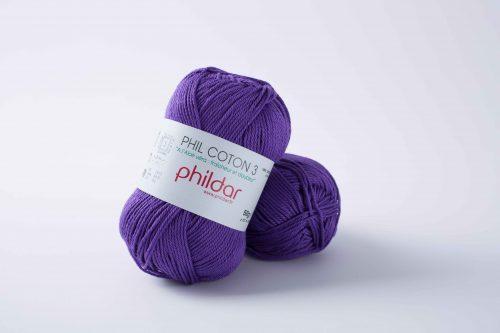 Wol;Phil Coton 3 Violet