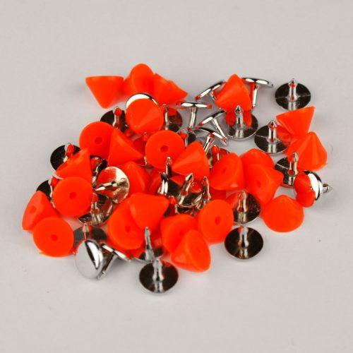 8st Studs Puntje Fluor Oranje