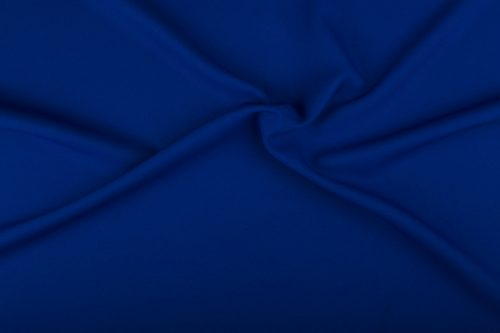Stof;Bi-Stretch Cobalt Blauw