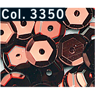 GM Cr. Pailletten cup 6mm D.Rood 3350