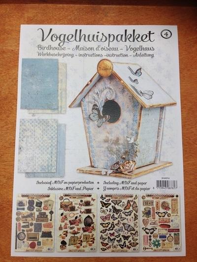 MDF Vogelhuis Pakket 4