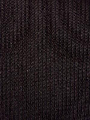 Boordstof Grof Zwart 75cm Breed