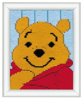 Bedrukt Stramien Spansteek Winnie the Pooh