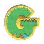Appli;Fun letter G