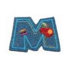 Appli;Fun letter Jeans M