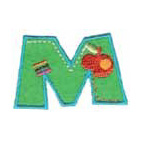 Appli;Fun letter M
