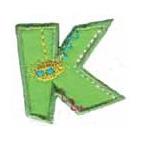 Appli;Fun letter K