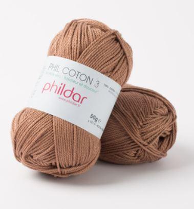 Wol;Phil Coton 3 Cappucino