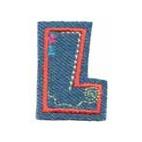 Appli;Fun letter Jeans L