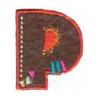 Appli;Fun letter P