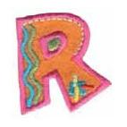 Appli;Fun letter R