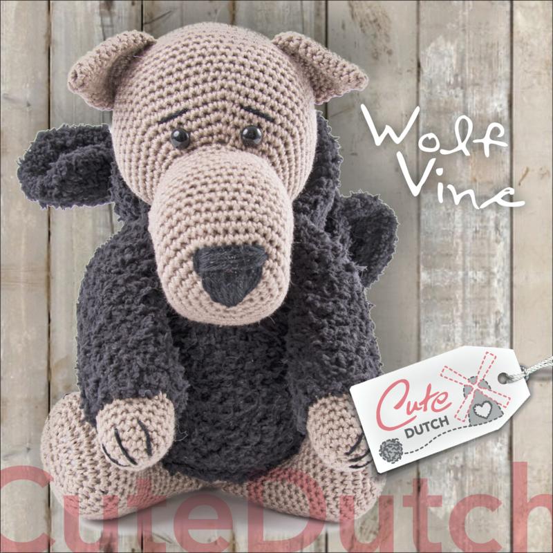 CD Haakpatroon Wolf Vince