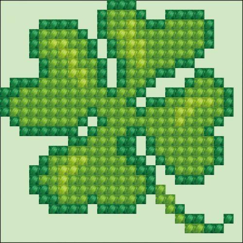 D.Dotz Lucky Leaves 7,6x7,6cm