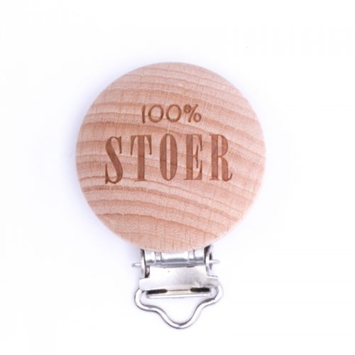 Speenclip Hout 100% Stoer