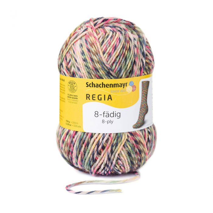 Wol;SMC Sokkenwol Regia Color Svartlöga-8997