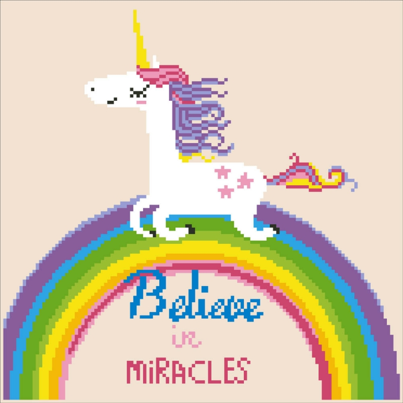 D.Dotz Believe in Miracles 35x35cm