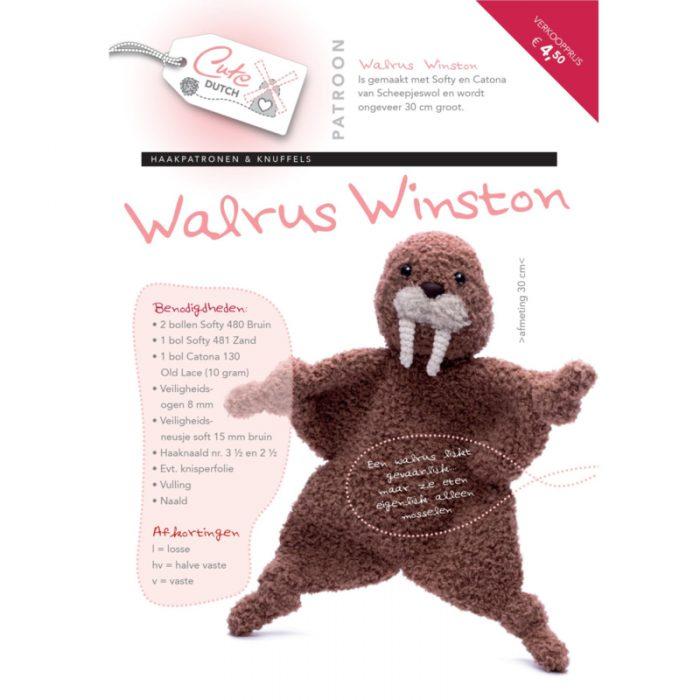 CD Haakpatroon Walrus Winston