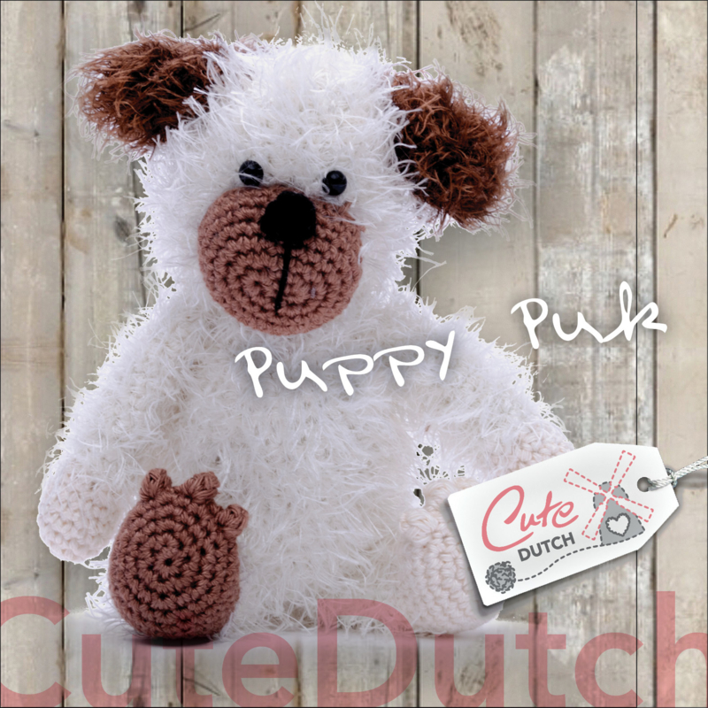 CD Haakpatroon Puppy Puk