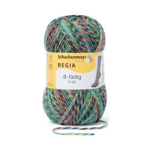 Wol;SMC Sokkenwol Regia Color Bullerö-8996