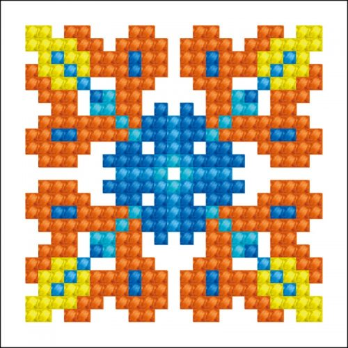 D.Dotz Autumn Mandala 2 7,6x7,6cm