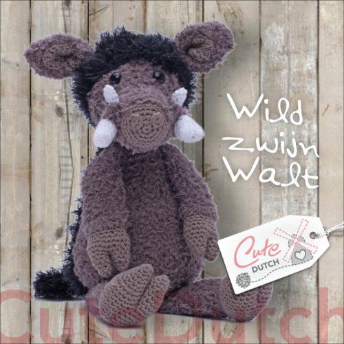 CD Haakpatroon Walt, het Wilde Zwijn