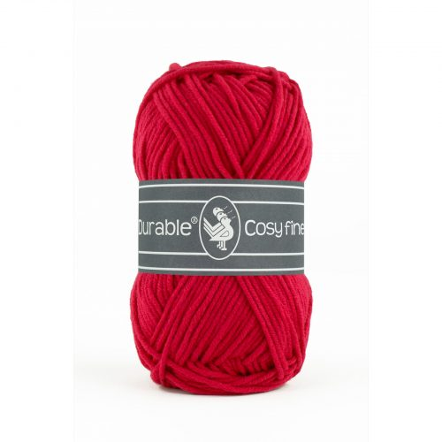 Durable Cosy Fine Diep Rood-317