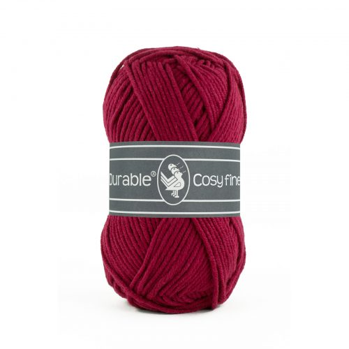 Durable Cosy Fine Bordeaux Rood-222