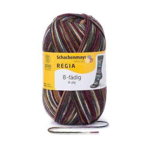 Wol;SMC Sokkenwol Regia Color Bergen-8083