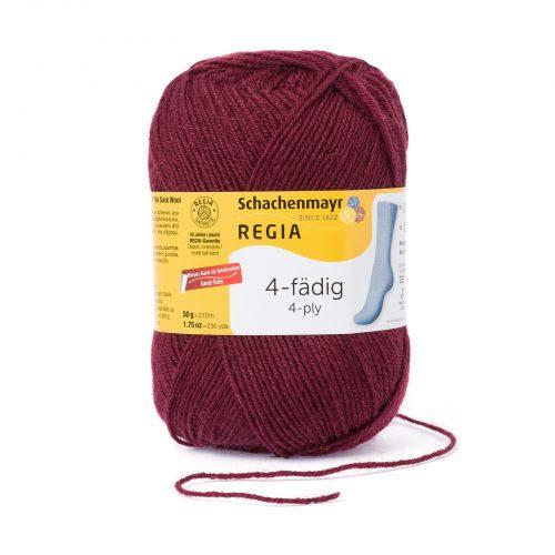 Wol;SMC Sokkenwol Regia Burgundy-0315