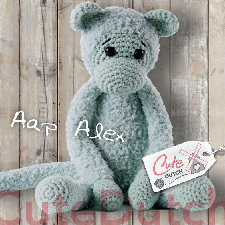 CD Haakpatroon Aap Alex