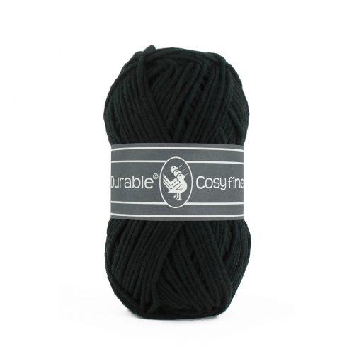 Durable Cosy Fine Zwart-325