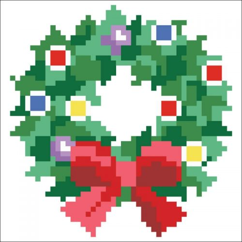 D.Dotz Christmas Wreath 13,5x13,5cm