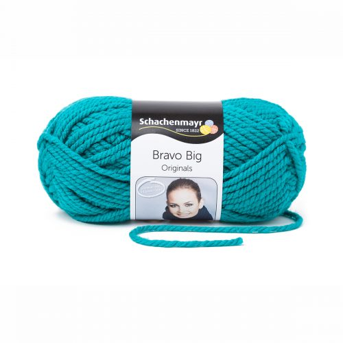 Wol;Bravo Big Smaragd Blauw