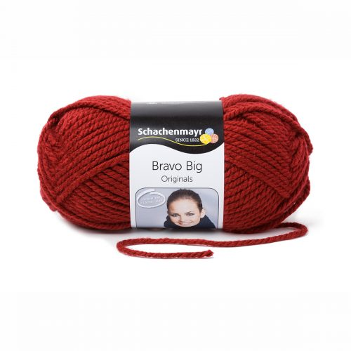 Wol;Bravo Big Bordeaux Rood
