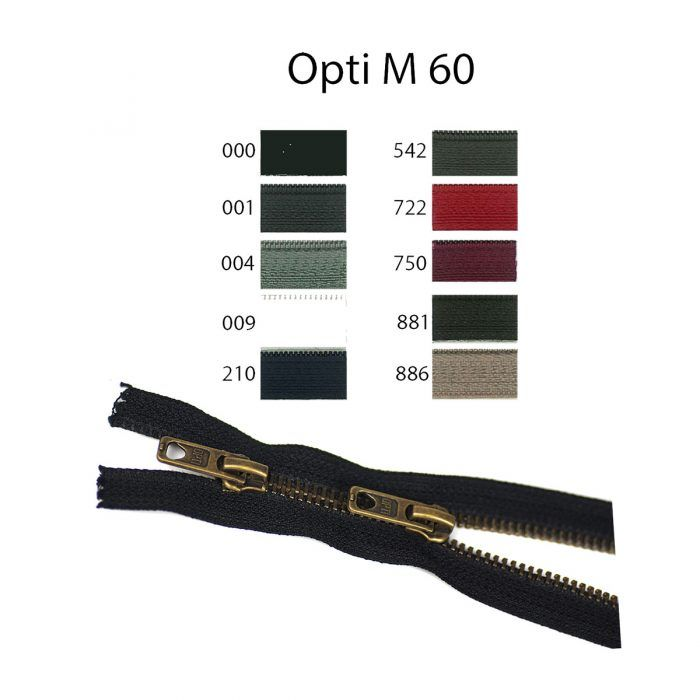 Rits;Opti-Lon M60 Zweiwege Mosgroen-542