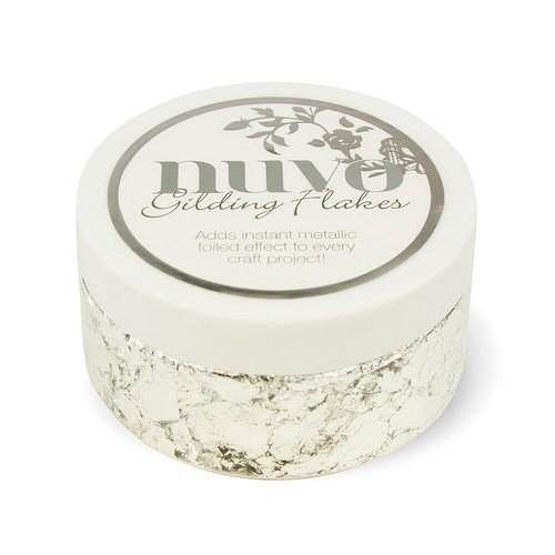 Pot Glitter Flakes Zilver 200ml