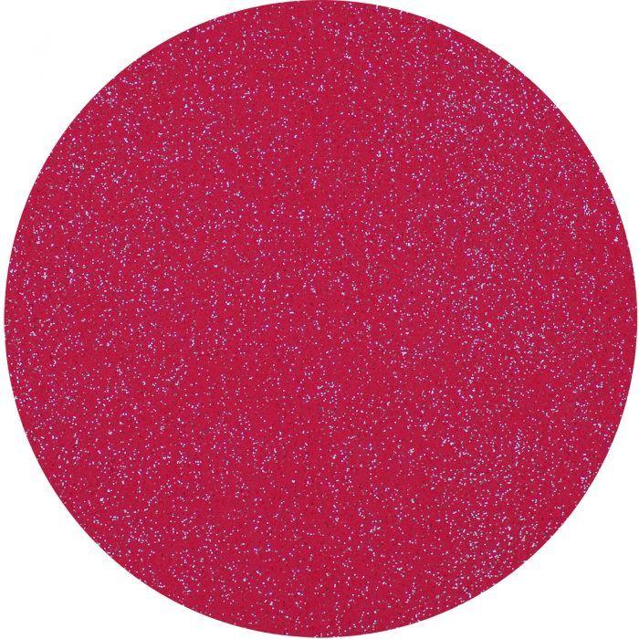 Glittervilt 20x30cm Donker Rose-786