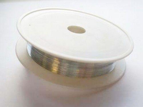 Binddraad 0.2mm Zilver 30m