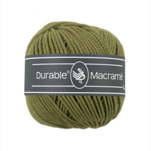 Durable Macrame 100gr Khaki-2168