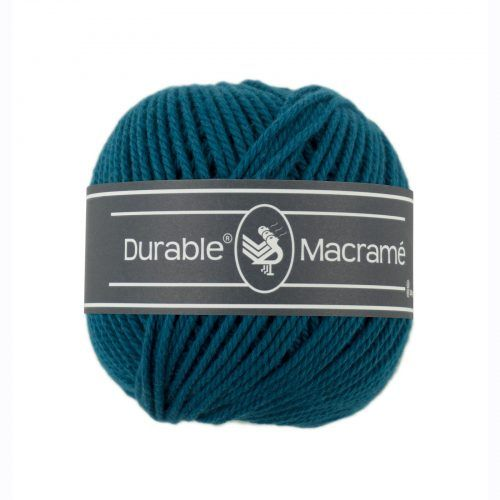 Durable Macrame 100gr Petrol-375