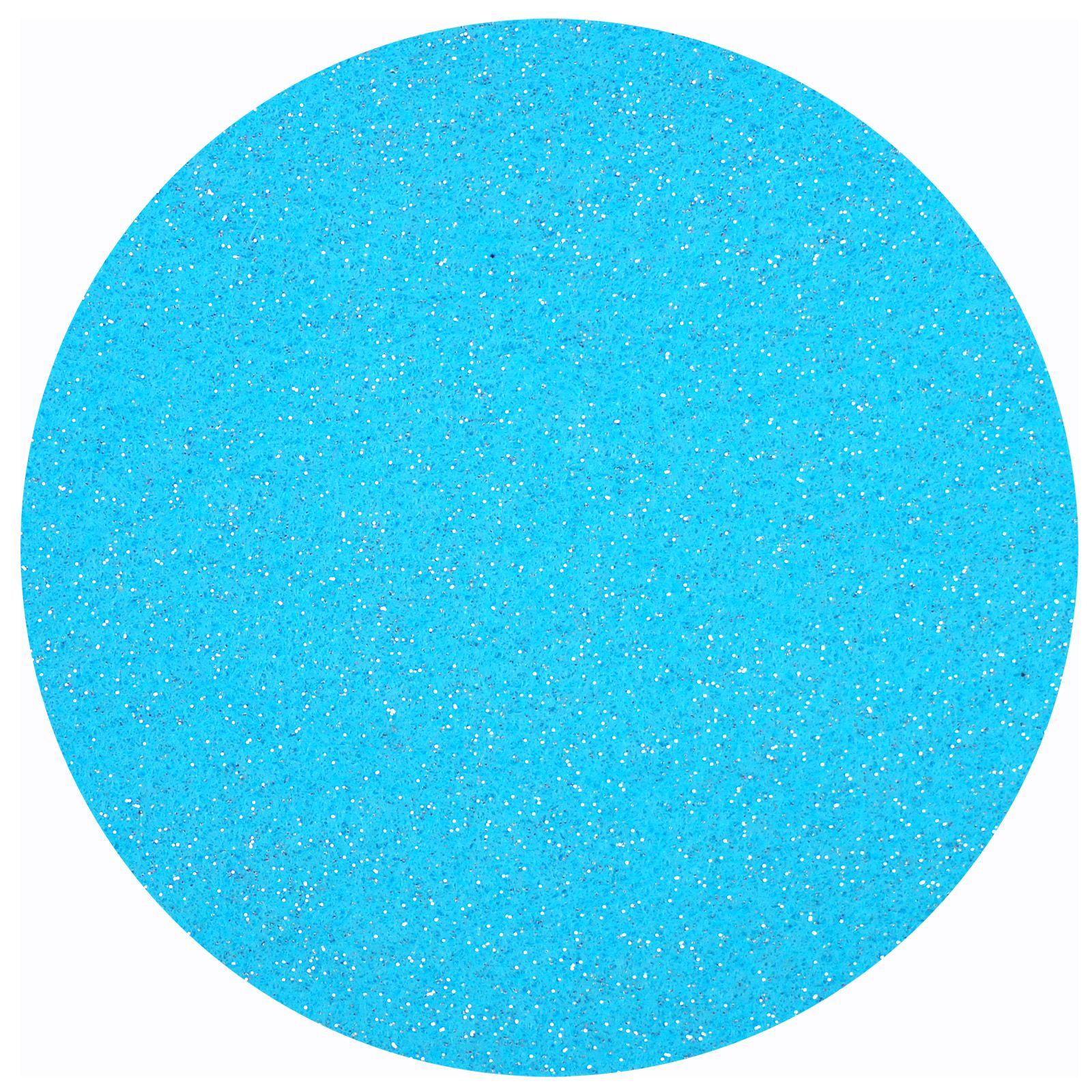 Glittervilt 20x30cm Turquoise-287