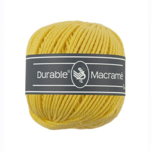 Durable Macrame 100gr Geel-2180