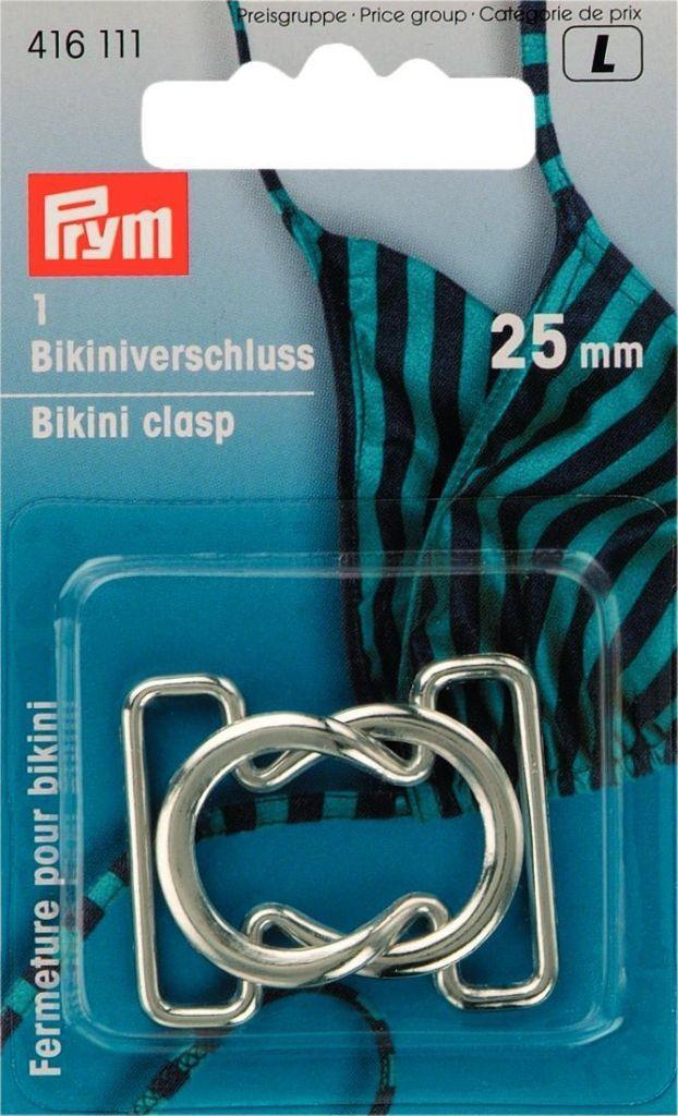 Prym L;Bikinisluiting Metaal 25mm